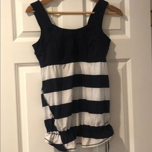 Lululemon striped workout top 8